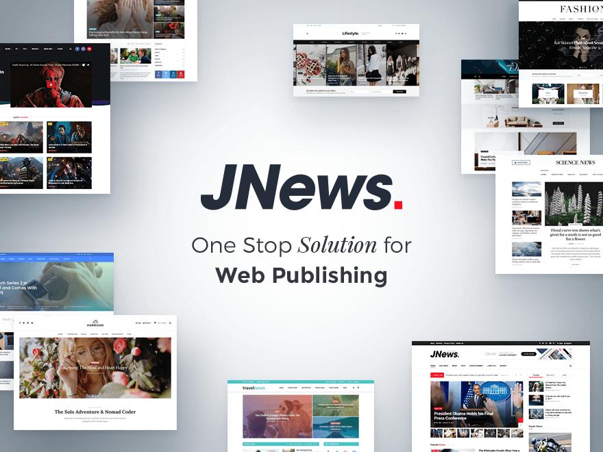 JNews WordPress Tema indir